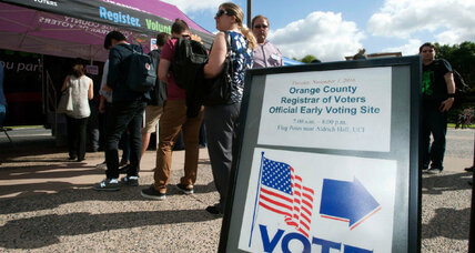 Some early voters get a do-over – but are they taking it?