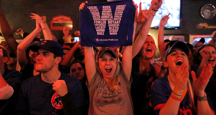 Rain helps Cubs regroup, and take World Series title in epic Game 7