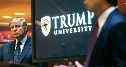 Should Trump's campaign tweets be evidence in Trump University trial?