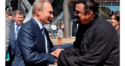 Why did Putin make Steven Seagal a Russian citizen?