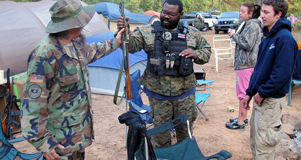 As Election Day draws near, some US militias are drawing guns