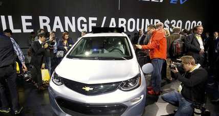 Chevy Bolt electric car wins North American Car of the Year award