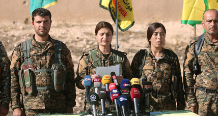Syrian Kurds announce campaign to retake Raqqa from IS