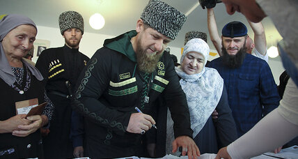 Apprentice: Warlord Edition? Chechen strongman takes reality TV turn