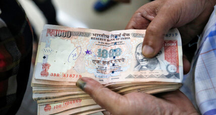 A glare of honesty on black money
