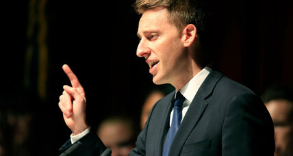 Who is Jason Kander, and why is his concession speech drawing attention?