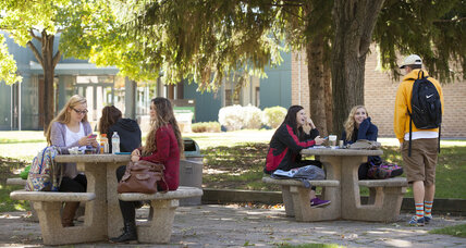 Student-led programs promote food  on US campuses