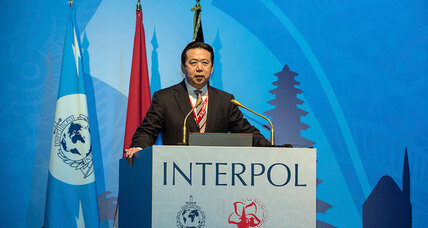 Interpol elects top Chinese police official, worrying human rights groups