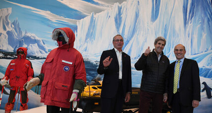 John Kerry lands in Antarctica, highest US official to visit
