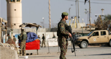 Taliban bomber attacks Bagram air base, kills 4 Americans