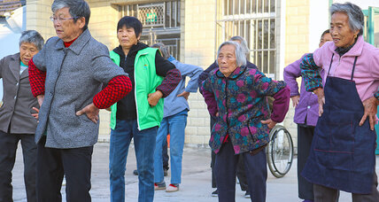As China's young head to cities, elders find new appeal in old age homes