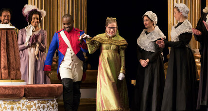 Ruth Bader Ginsburg a hit in opera debut. Really.