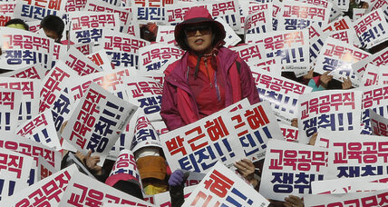 For S. Koreans, presidential scandal tests faith in their young democracy