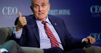 Giuliani is a leading candidate to be Trump's secretary of state -source