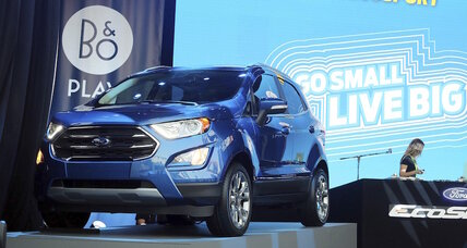 2018 Ford EcoSport subcompact SUV finally debuts in the US