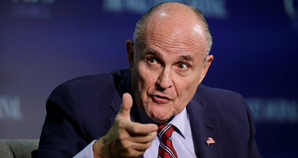 Is Giuliani the right man to be Trump's bridge with the rest of the world?