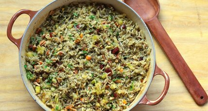 Thanksgiving side dish: Wild rice pilaf