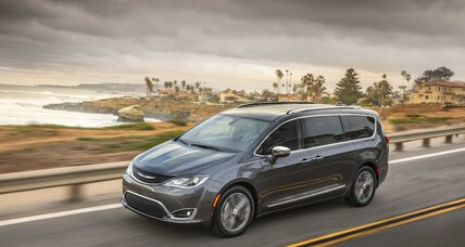2017 Chrysler Pacifica Hybrid is the world's first hybrid plugin minivan