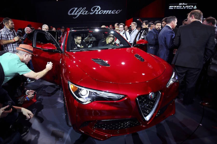 alfa romeo stelvio south africa with 2018 Alfa Romeo Stelvio Suv Debuts At Los Angeles Auto Show on 43085 furthermore Alfa Romeo Giulia Interior Dimensions moreover Next Gen Jeep Grand Cherokee To Get additionally New York Auto Show 2017 Preview 2017 4 also 2779464.