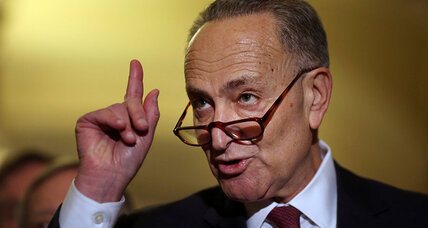 Democrats' last 'emergency brake' on Donald Trump: Charles Schumer