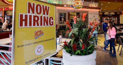 Jobless claims decline to lowest level since 1973