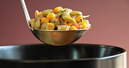 Holiday recipe swap: Southwestern succotash with roasted green chile