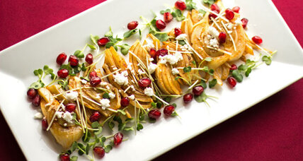 Holiday recipe swap: roasted fennel salad with cranberry balsamic