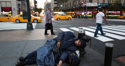 US homelessness declines: What's working?