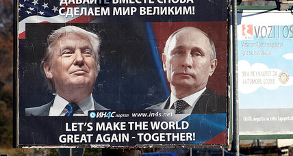 The US president-elect and Russia's political trajectory, Tearing up the rule book, Threats will be neutralized, A darkness has descended, A sad da...