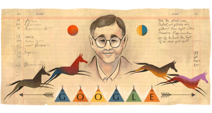 Google honors James Welch, writer of the Native American Renaissance