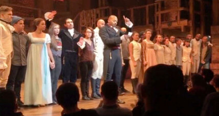 'Hamilton' cast sends Mike Pence a post-performance message