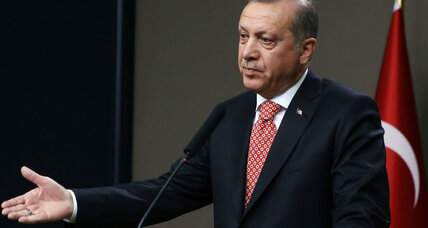 Turkey's president suggests Russian-led Shanghai bloc for EU alternative