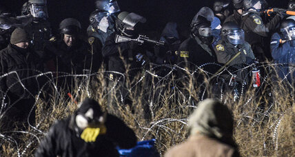 At Standing Rock, police fire water cannons at pipeline protesters (+video)