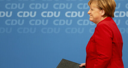Fourth term? In Merkel, many Germans see steadiness in roiled Europe