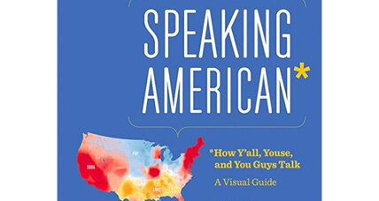 American speech mapped, in vivid color