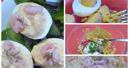 Holiday recipe swap: shrimp deviled eggs