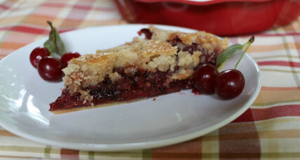 Holiday recipe swap: cherry cobbler pie