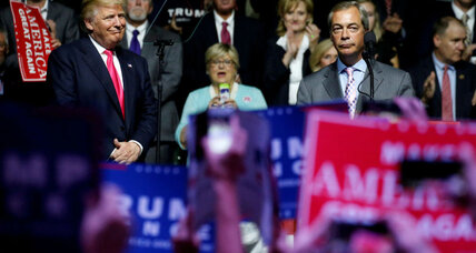 Farage for US ambassador? We are not amused, says Britain.