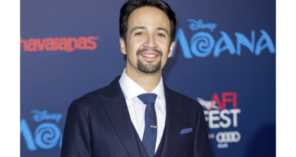 'Moana' was Lin-Manuel Miranda's 'Hamilton' break, says Tony Award-winning composer