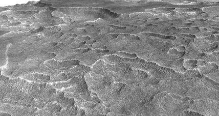 Spotted on Mars: Underground ice layer big enough to cover New Mexico