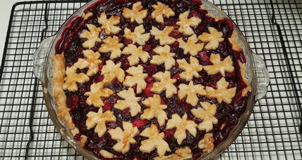 Holiday recipe swap: cranberry and mixed berry pie