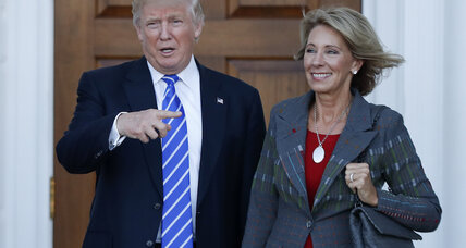 What does Trump's education secretary pick mean for student loan debt?