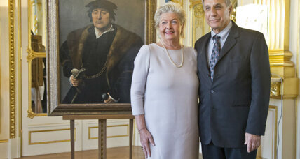 Healing wounds, France returns looted artwork to Nazi victim's heirs