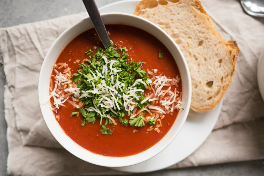 Roasted Chili Tomato Soup Csmonitor Com