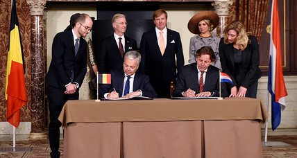 Why did Belgium and the Netherlands just swap land?