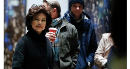 What you should know about Elaine Chao, Trump's pick for transportation