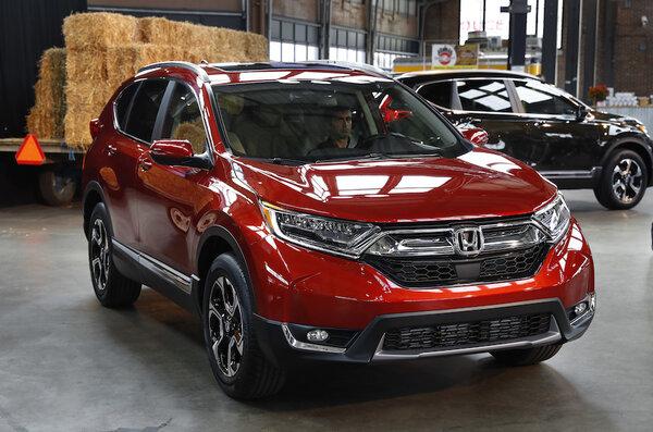 The 2017 Honda Cr V In Detroit