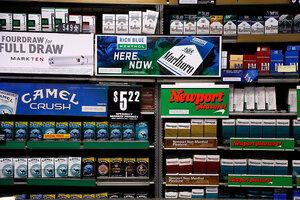 Dunhill cigarettes shop London