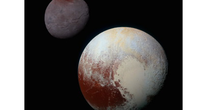 Why Pluto's 'icy heart' may have sunk under its own weight