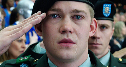 Virtues of 'Billy Lynn's Long Halftime Walk' are concealed by film format